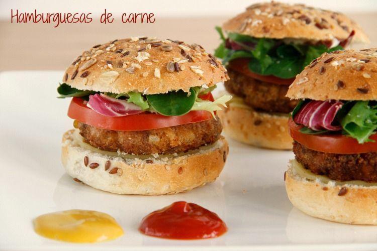 Hamburguesas de carne - MisThermorecetas