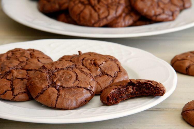 Cookies brownie de chocolate - MisThermorecetas