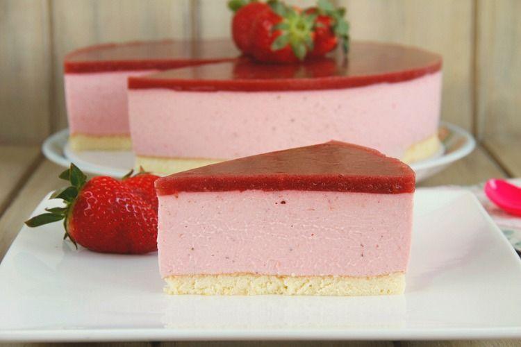 Tarta de fresas y mascarpone - MisThermorecetas