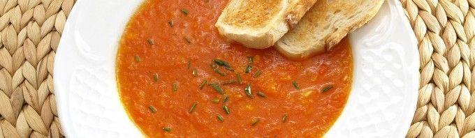 Sopa de tomate - MisThermorecetas.com