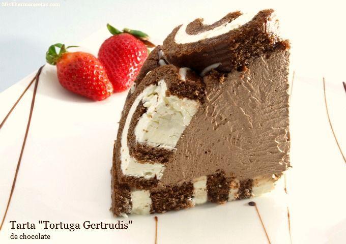 """Tarta """"Tortuga Gertrudis"""" - MisThermorecetas"""