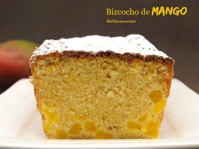 Bizcocho de mango - MisThermorecetas