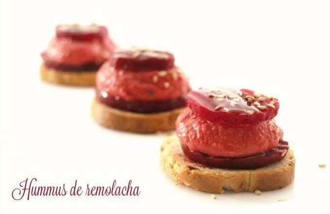 Hummus de remolacha - MisThermorecetas