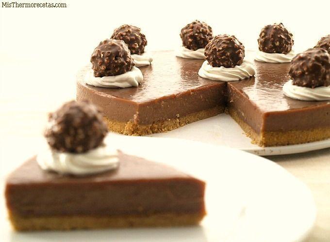 Tarta Ferrero Rocher - MisThermorecetas