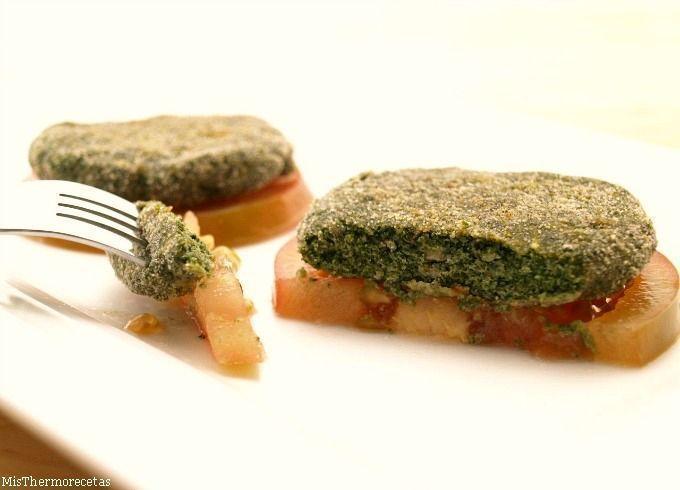 Hamburguesas de salmón y espinacas - MisThermorecetas