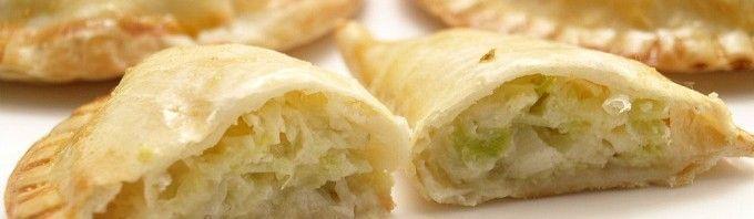 Empanadillas de puerro y queso - MisThermorecetas.com
