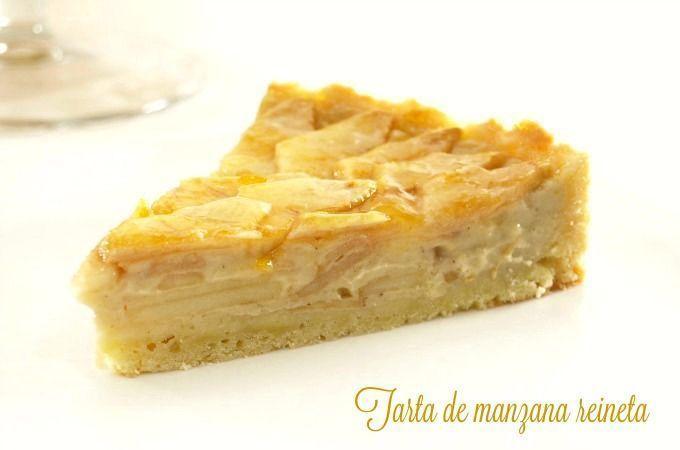 Tarta de manzana reineta - MisThermorecetas