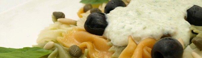 Salsa de albahaca para pasta (pesto ligero) - MisThermorecetas