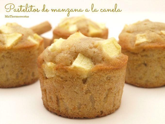 Pastelitos de manzana a la canela - MisThermorecetas