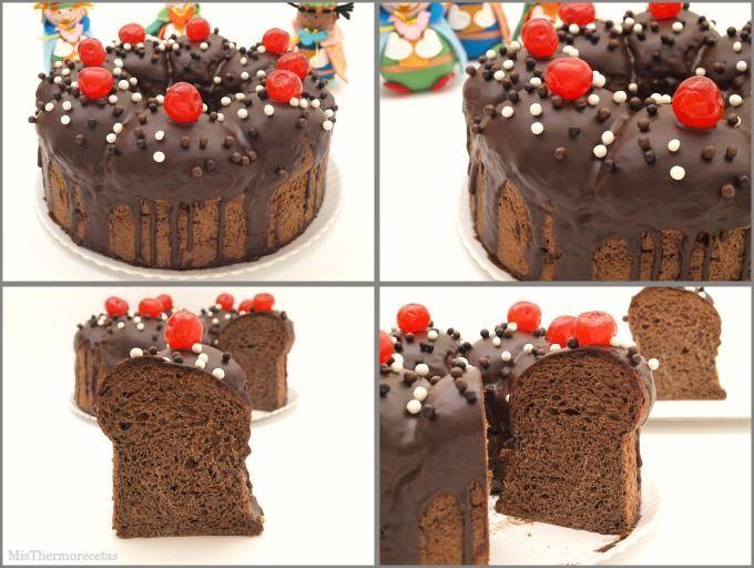 Roscón de Reyes de chocolate - MisThermorecetas