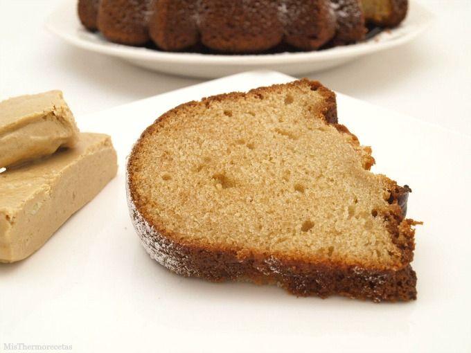 Bundt Cake de turrón de Jijona - MisThermorecetas