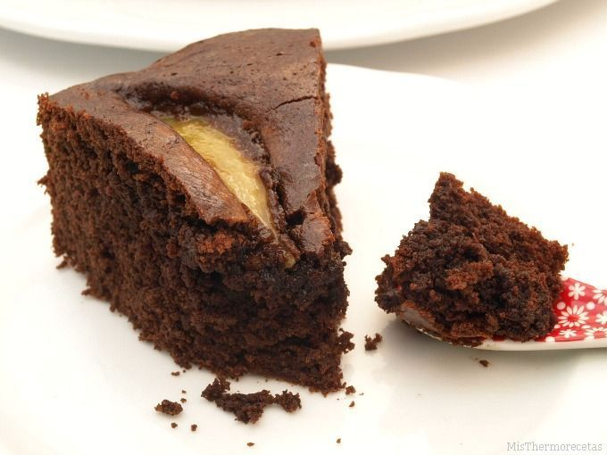 Pastel de Nutella y pera - MisThermorecetas