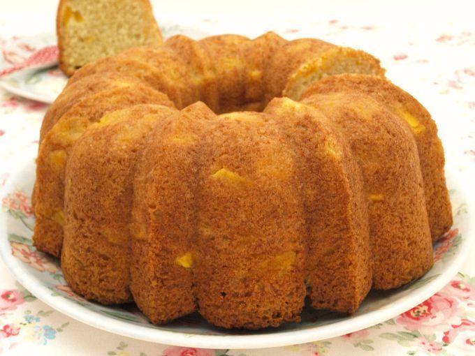 Bundt Cake con mango y coco - MisThermorecetas