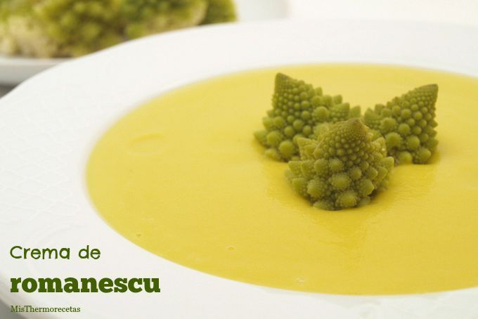 Crema de romanescu - MisThermorecetas