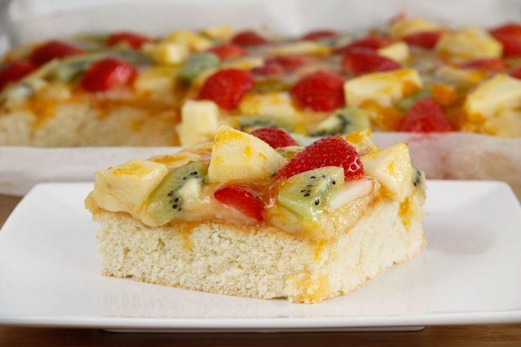 Tarta de fruta y crema de lima - MisThermorecetas