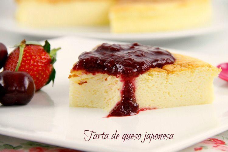 Tarta de queso japonesa - MisThermorecetas