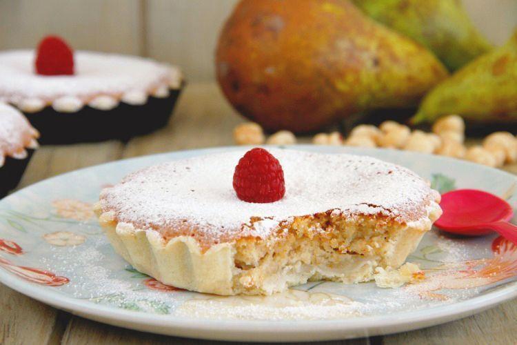 Tartaletas de peras con avellanas - MisThermorecetas