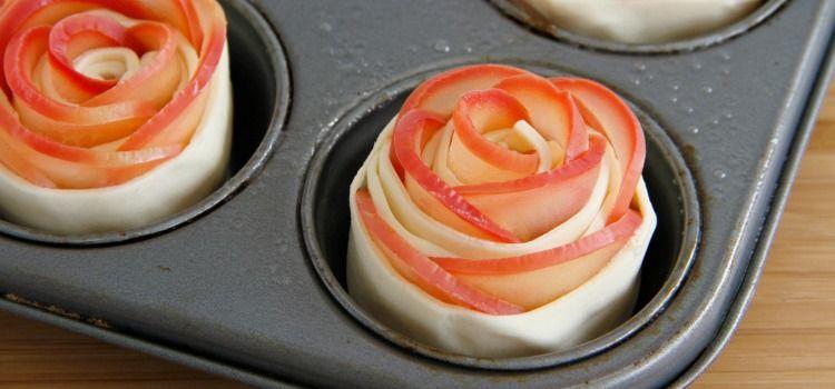 Rosas de manzana - MisThermorecetas