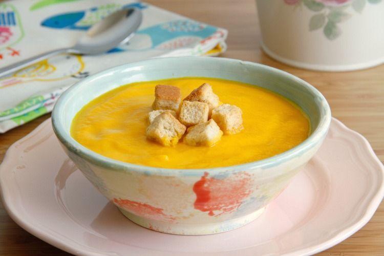 Crema ligera de zanahoria y apio - MisThermorecetas