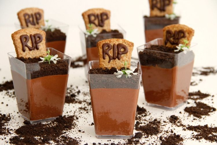 "Halloween: ""Tumbas"" de chocolate"