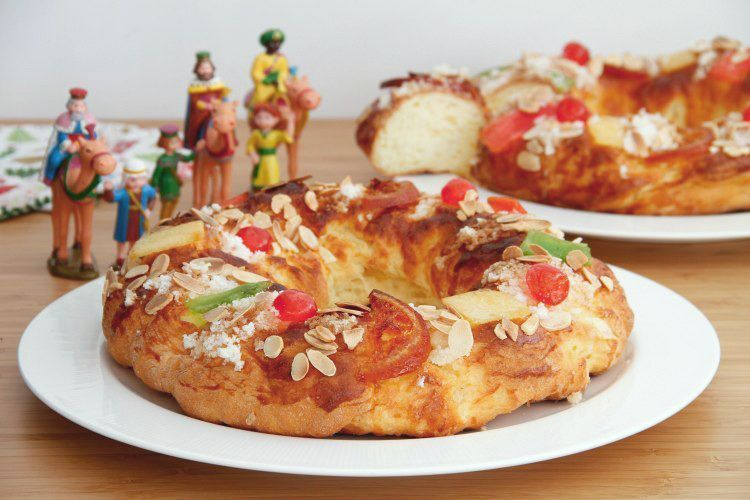 Roscón de Reyes, SIN GLUTEN