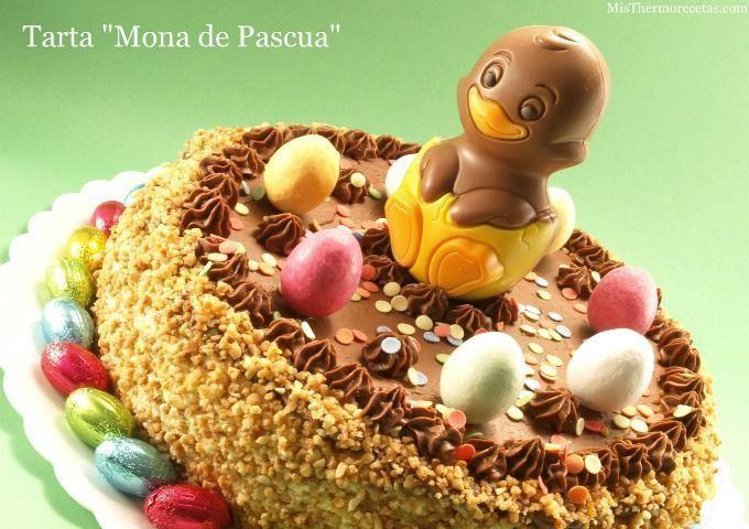"Tarta ""Mona de Pascua"""