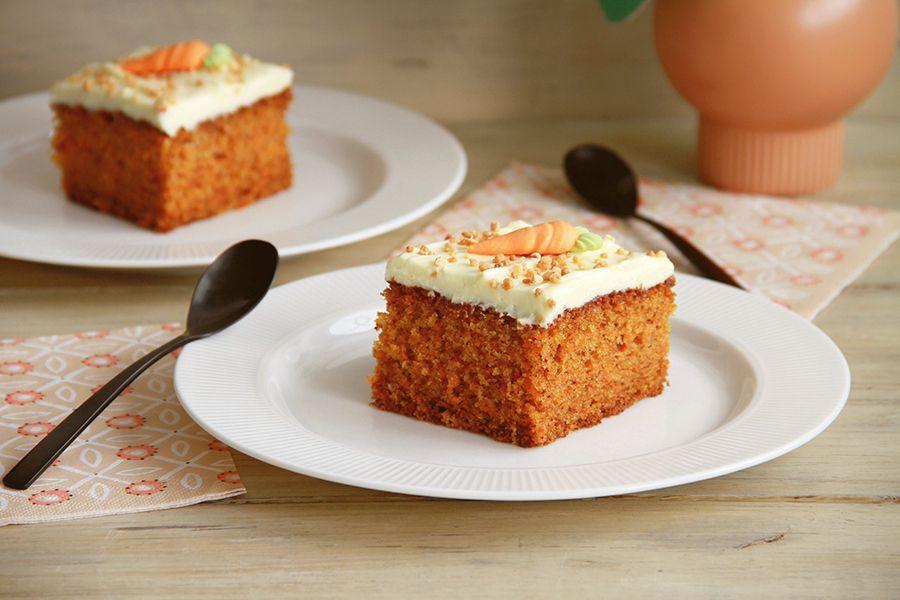 Pastel de zanahoria (Carrot Cake), con Thermomix