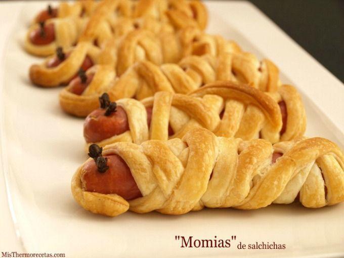 """Halloween: """"Momias"""" de salchichas"""