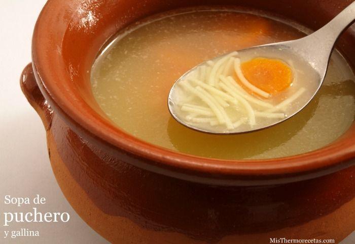 Sopa de puchero