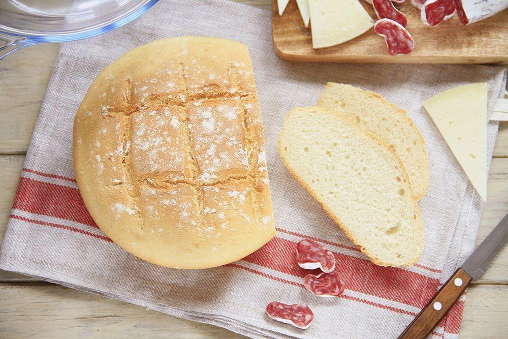 Pan rápido o pan milagro, en Pirex