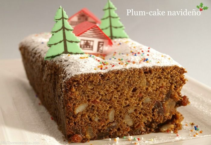 Plum-cake navideño