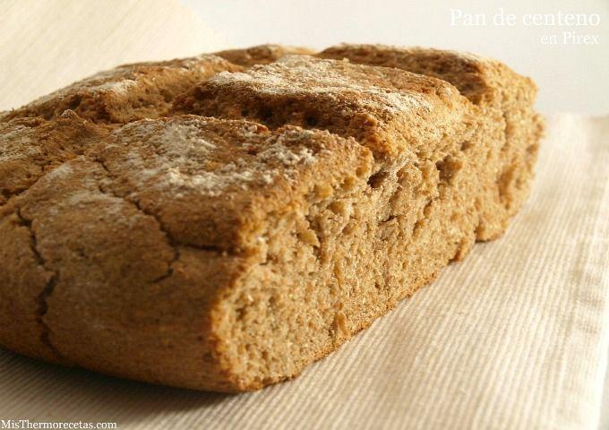 Pan de centeno (en Pirex)