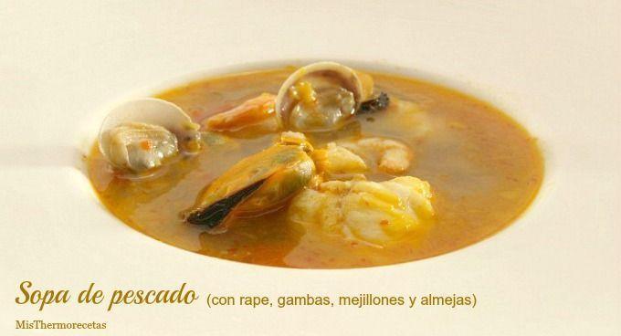 Sopa de pescado - MisThermorecetas