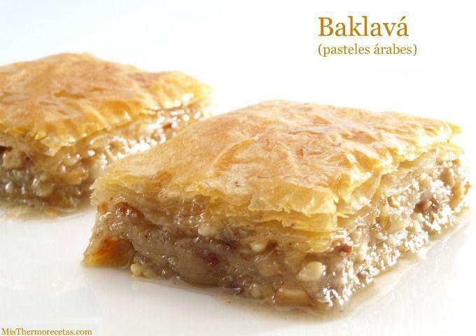 Baklavá (pasteles árabes)