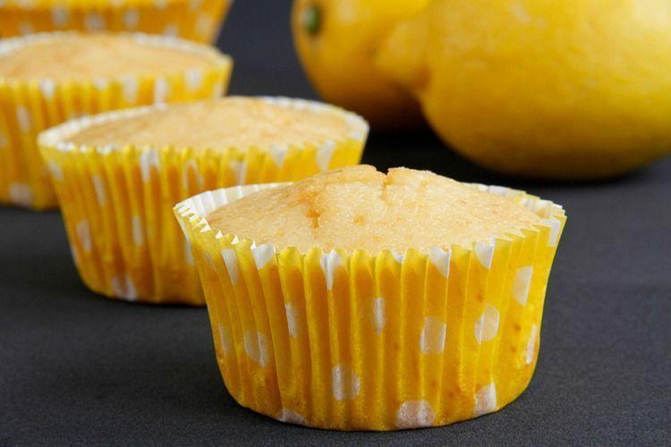 Cupcakes de limón - MisThermorecetas