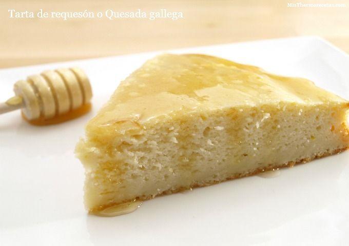 Tarta de requesón o Quesada gallega