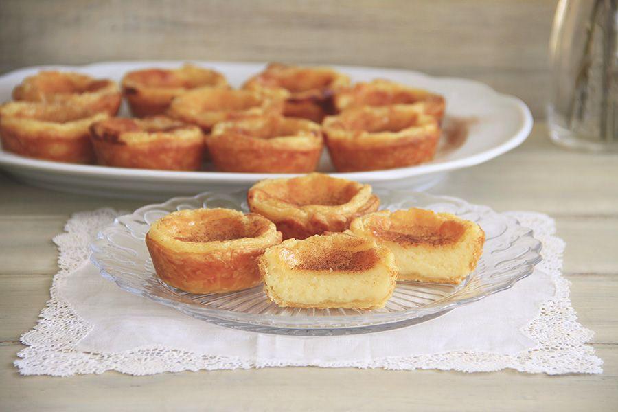 Tartaletas de crema portuguesas (Pastéis de Belém)