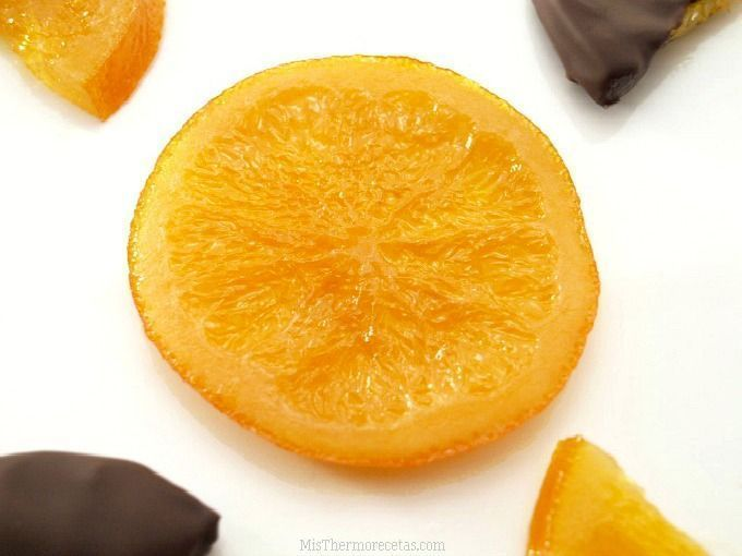Naranjas confitadas - MisThermorecetas