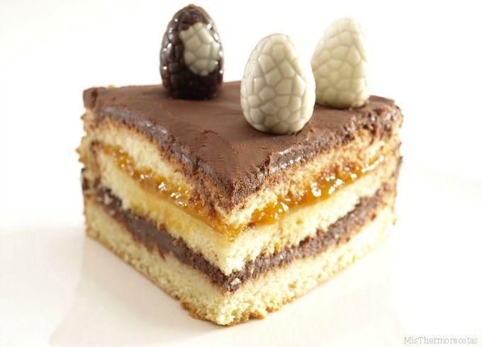 Ganaché de chocolate (para rellenar y cubrir tartas)