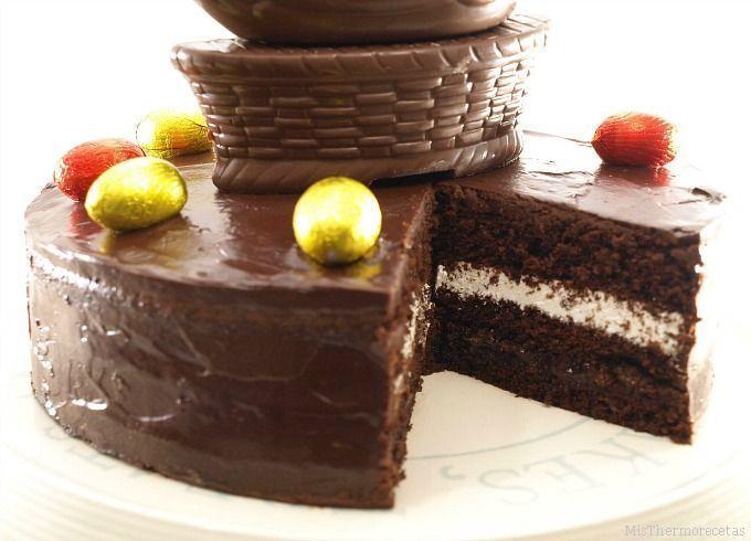 Tarta rápida de chocolate y nata para todo tipo de celebraciones