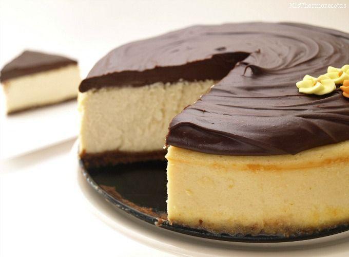 Cheesecake de Baileys con chocolate