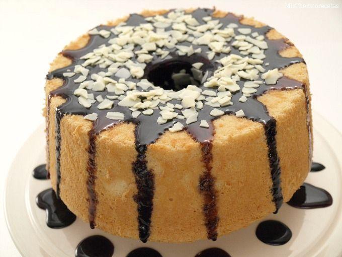 Angel food cake (Pastel de ángel)