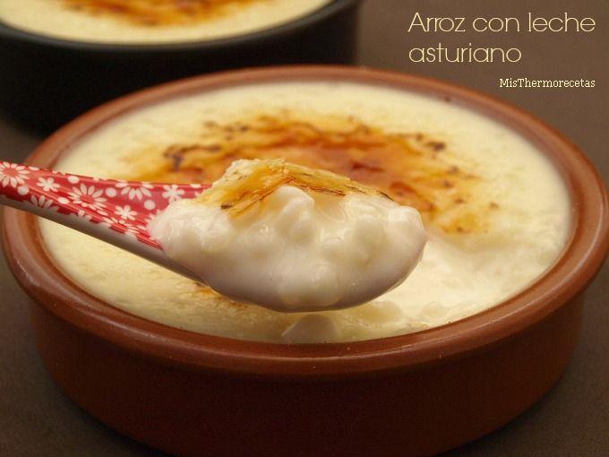 Arroz con leche asturiano