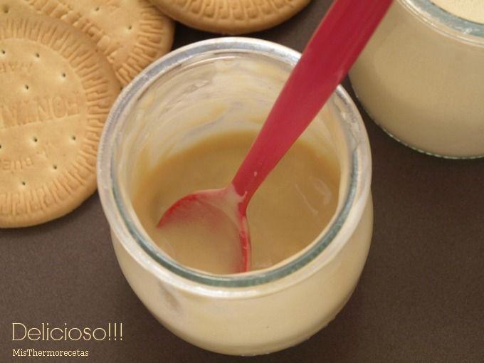 Yogur de galletas María