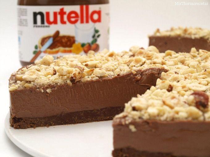 Cheesecake de Nutella (sin horno)