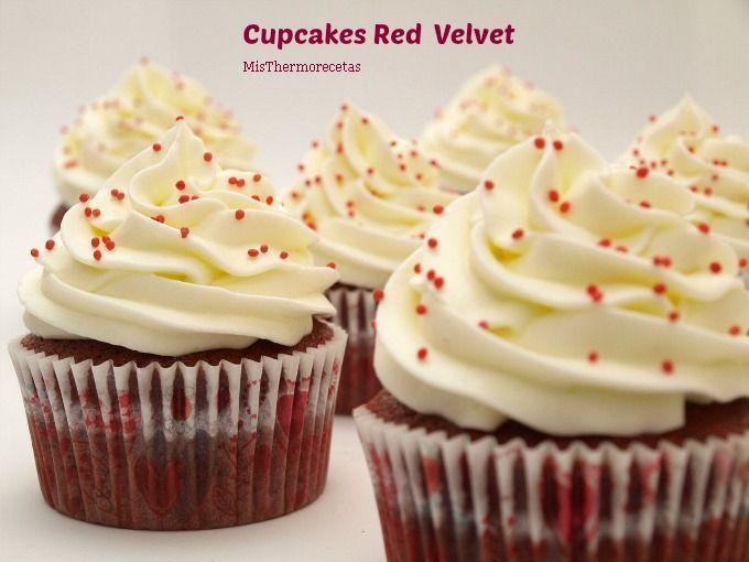 Cupcakes Red Velvet o Terciopelo Rojo