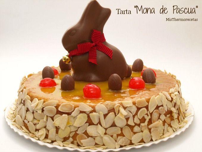 """Tarta """"Mona de Pascua"""" (II)"""