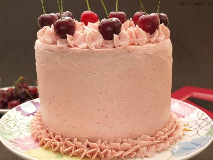 Layer cake de cerezas