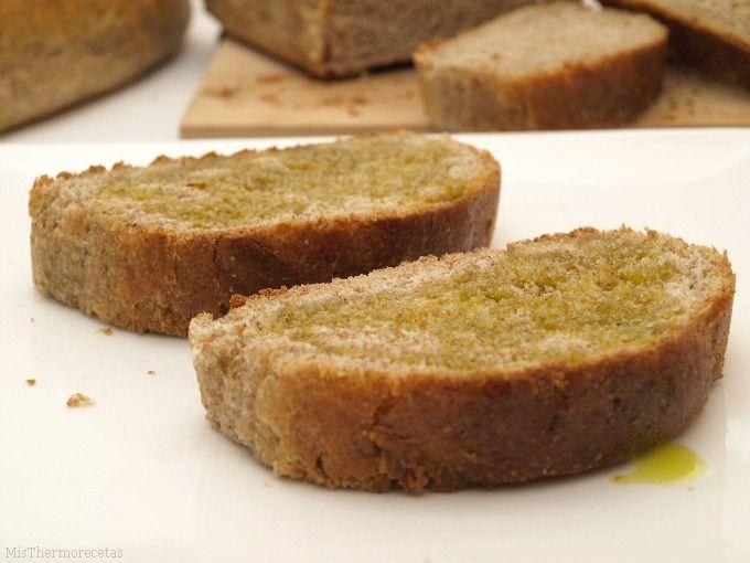 Pan integral con cerveza