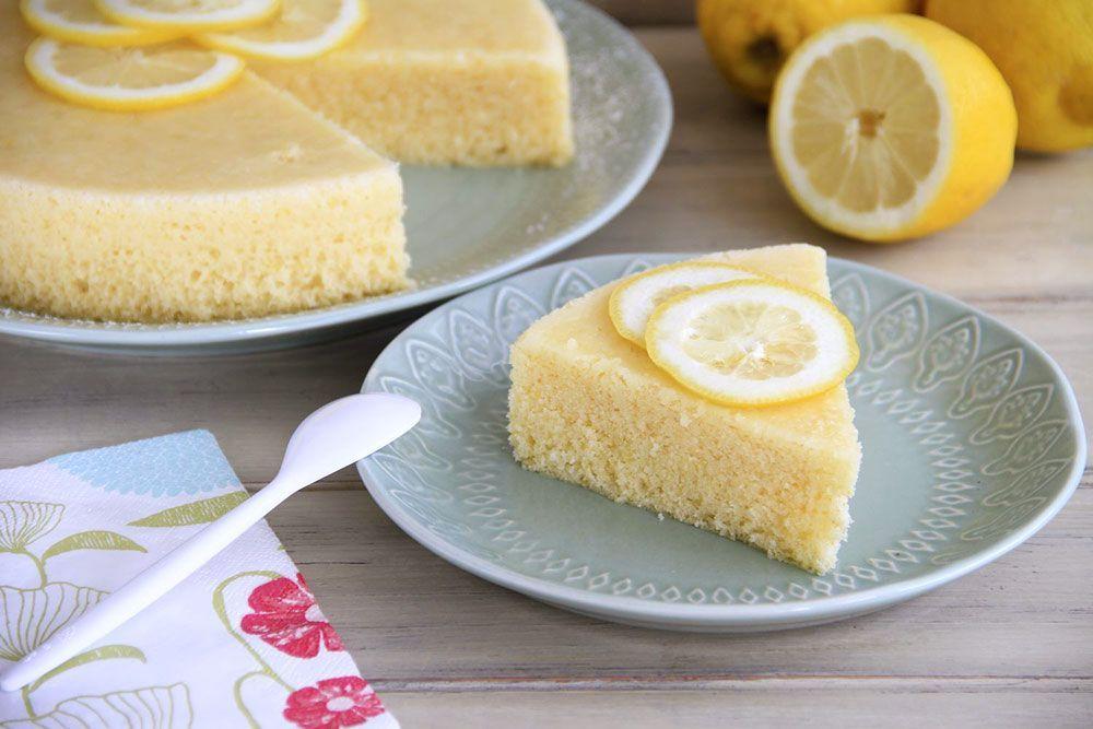 Bizcocho de limón, en el microondas